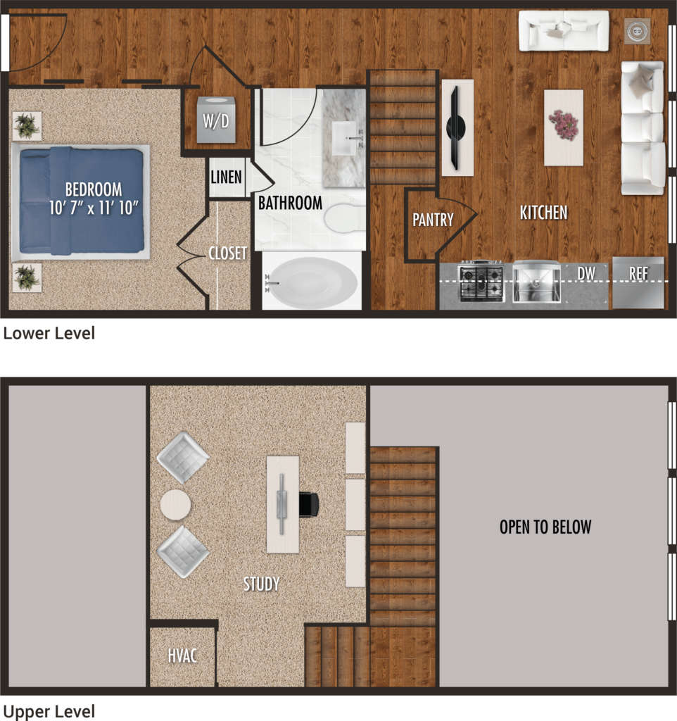 studio apartment in houston