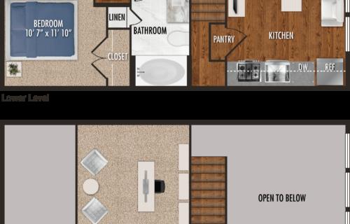 studio apartments in Houston