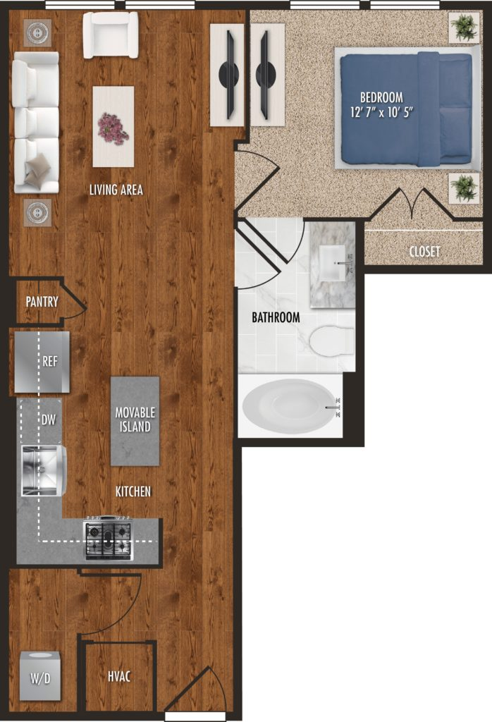 One-Bedroom Bliss at Alexan 5151