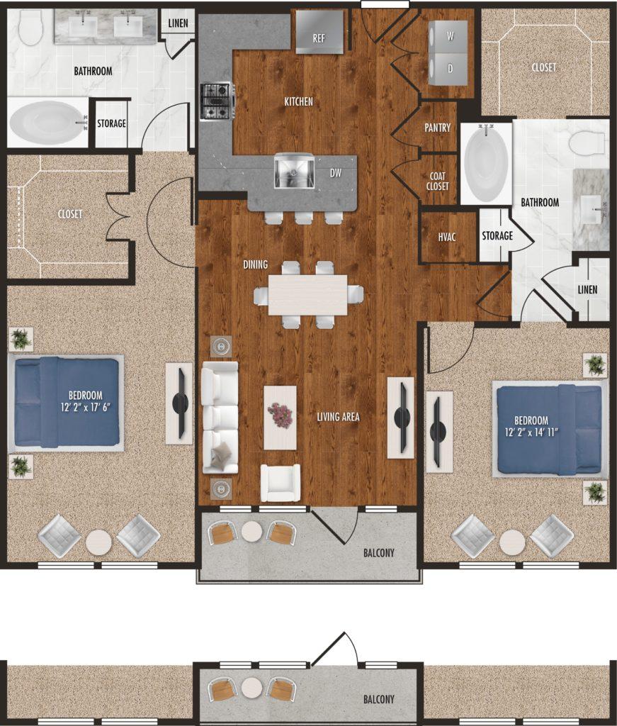 Plan Your Two-Bedroom Getaway