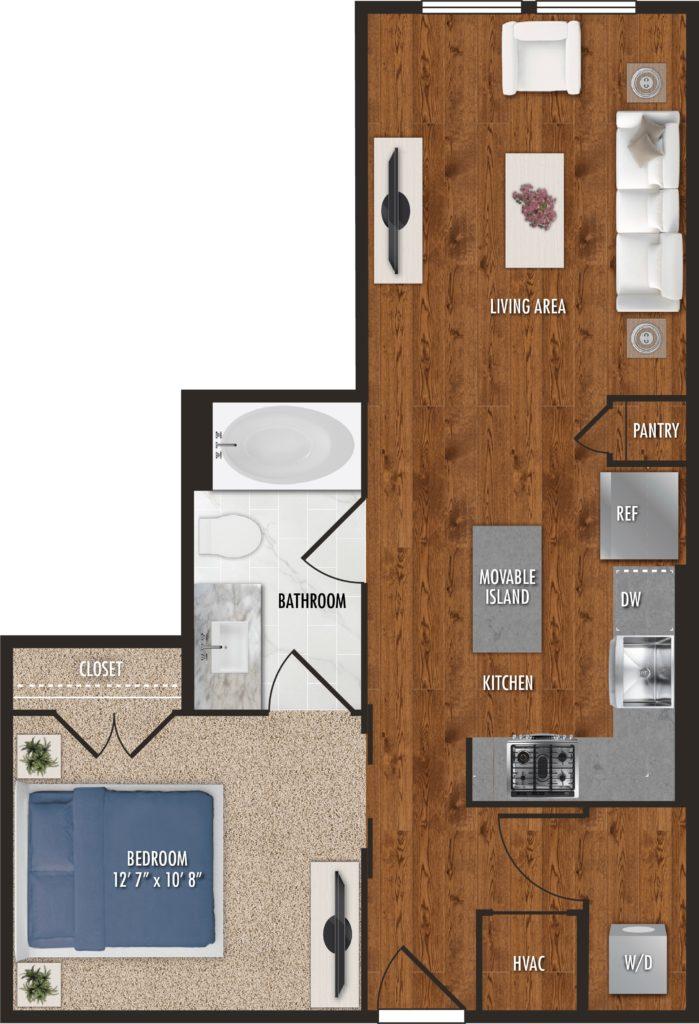 One-Bedroom Luxury in Houston